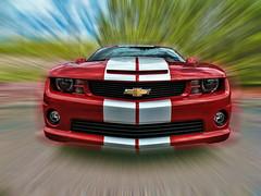 [フリー画像] 乗り物, 自動車, ゼネラルモーターズ, シボレー カマロ, 201102032300