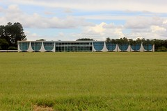 Palcio da Alvorada (carlosoliveirareis) Tags: brazil southamerica grass niemeyer brasil df palace presidence whbrasil