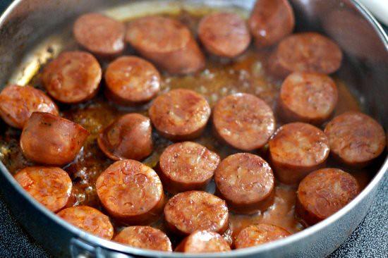 Garbazos & Chorizo