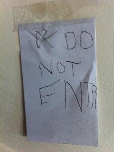 Ezra's sign