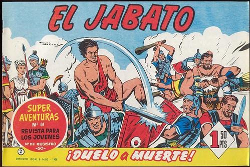 014-El Jabato nº 2- edicion 1958-portada