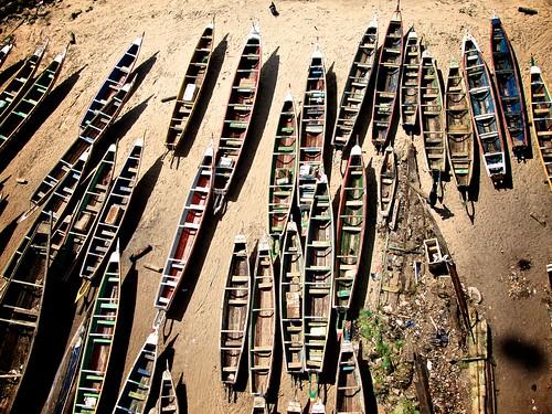 [フリー画像] 乗り物, 船・船舶, ボート・カヌー, セネガル共和国, 201102031300