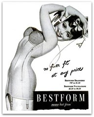 1945 Vintage Advert - BestForm Corsets (CharmaineZoe) Tags: life vintage magazine advertising ad advertisement 1940s advert lifemagazine 1945 wartime