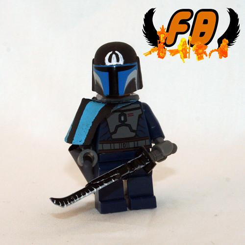 star wars clone wars logo. Custom minifig Star Wars Clone