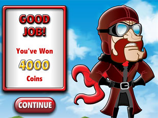 free Flying Colors slot bonus feature 2
