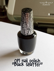 "OPI in ""Black Shatter"""