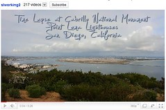 Time Lapse Video at Cabrillo National Mounment...
