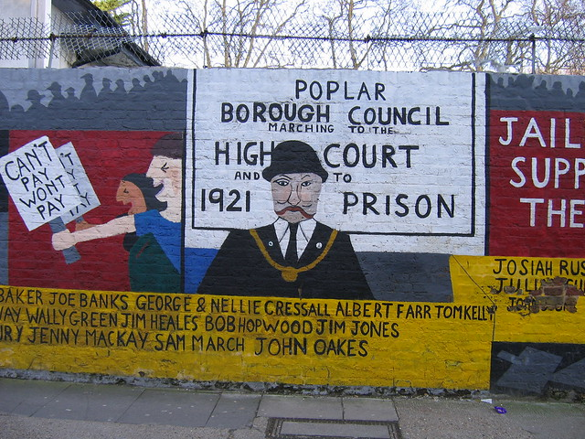 Poplar Rates Rebellion Mural
