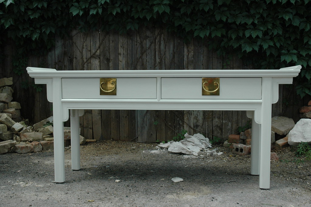 oriental console table - sold