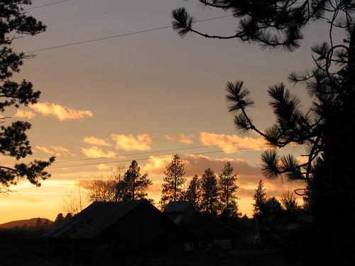 Amber Lake sunset 4