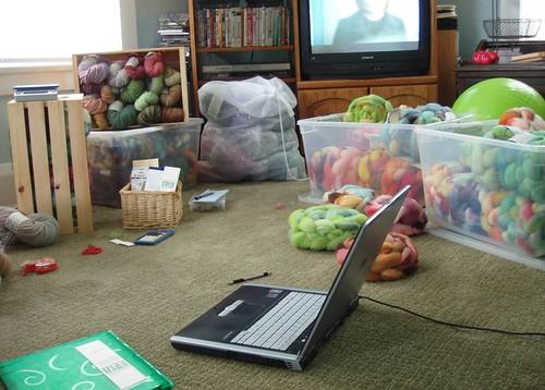 living room/studio