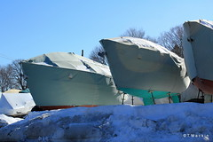 Wrapped for the Winter at Milford Boat Works (T.Mackin) Tags: tom flickr mackin stumbleupon tpmackin boatssilversandsmilfordmilford ctsnowicewintertmackintpmackinmackin06460 tpmackinoptonlinenet tpmackin1gmailcom