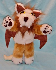 Plush World of Warcraft Wind Rider Cub (Creative Critters) Tags: wow worldofwarcraft plush windrider companionpet creativecritters handmadeartfirecreativecritters windridercub wowplushie plsuhwindrider