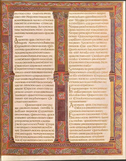 Evangeliar (Codex Aureus) - BSB Clm 14000 o