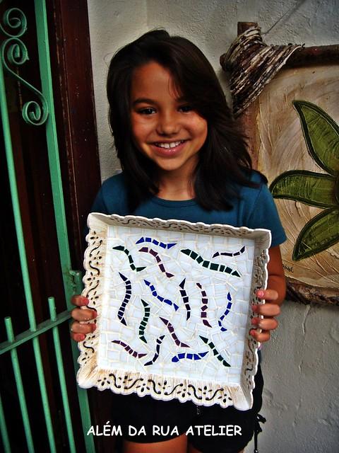 Curso de Mosaico para Crianças