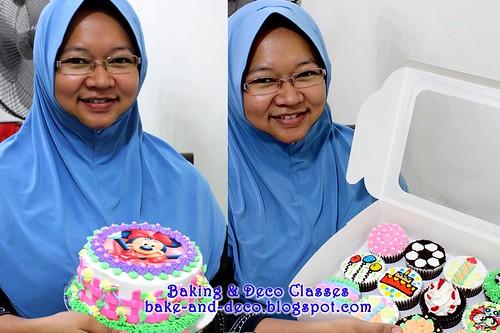 Batch 8 Dec 2010: Combo A - Basic Buttercream Cupcakes & Cake
