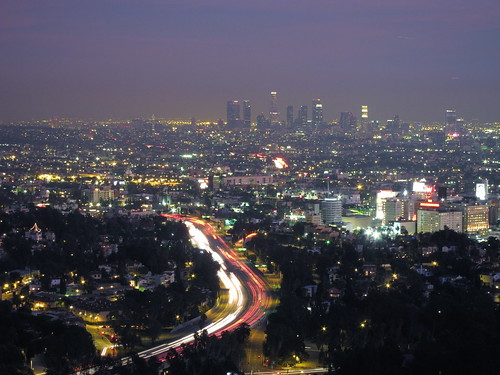 Los Angeles, from Mullholland Drive