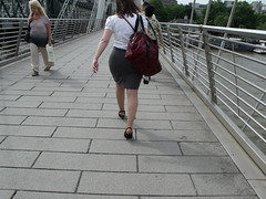 DSCF3124 (Candid Heels) Tags: street public stockings high pumps boots shots sandals candid heels pantyhose nylons