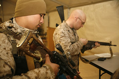 """""""Inspection Arms"""" (United States Marine Corps Official Page) Tags: afghanistan usmc military marines weapons unitedstatesmarinecorps unitedstatesmarines marinespictures marinesphotos"""