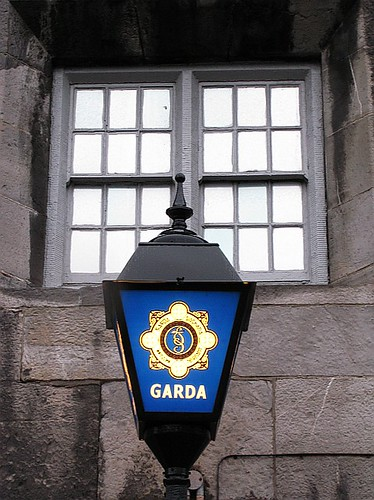 Garda light and window