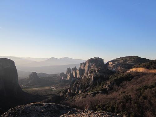 Sunset at Meteora