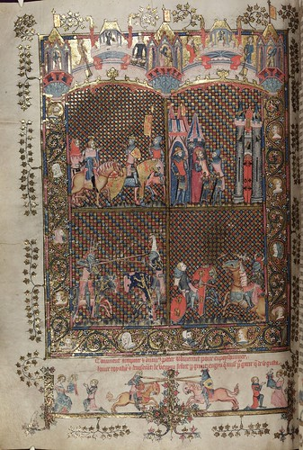 008-folio 101 verso-The Romance of Alexander - MS. Bodl. 264 © Bodleian Library-University of Oxford 1999