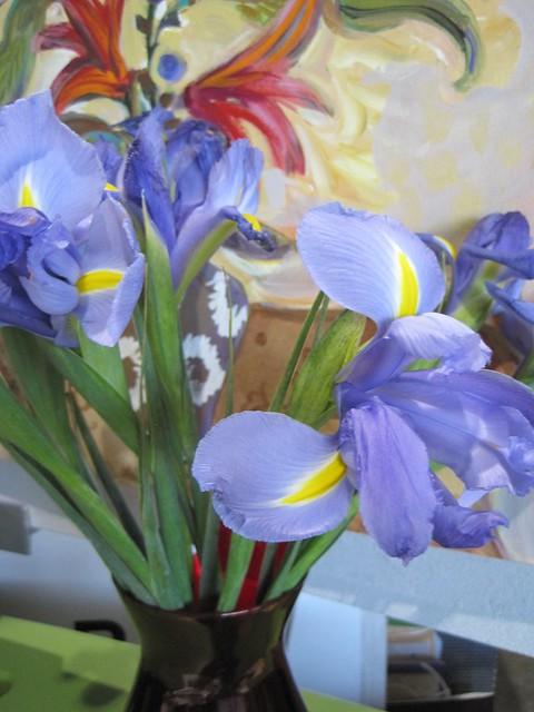 Valentine irises