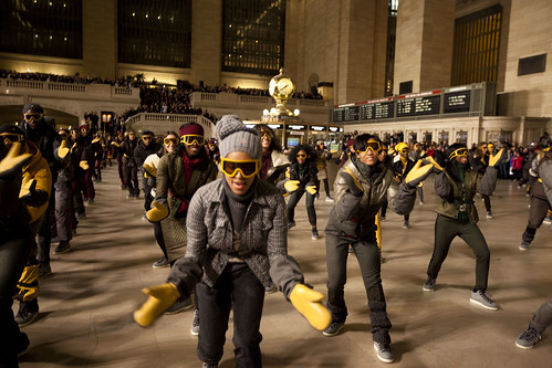 NYFW: Boogie Woogie in Grand Central