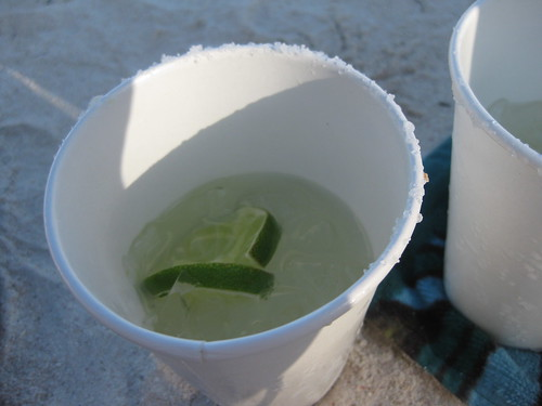 Margaritas on the beach