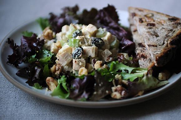 Curried Smoked Turkey Salad