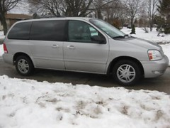 van minivan fordvan fordfreestar