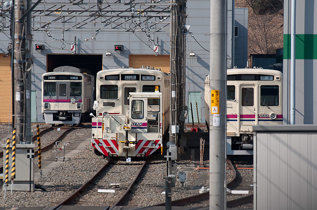 京王電鉄6000系 2コテ部品撤去開始