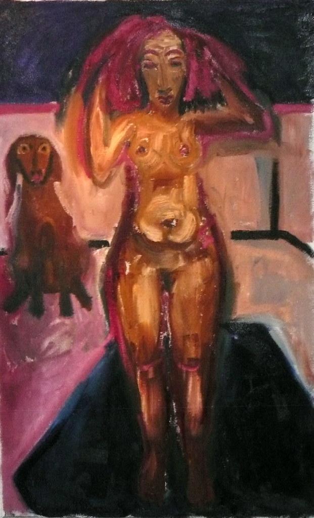 dog girl nackt
