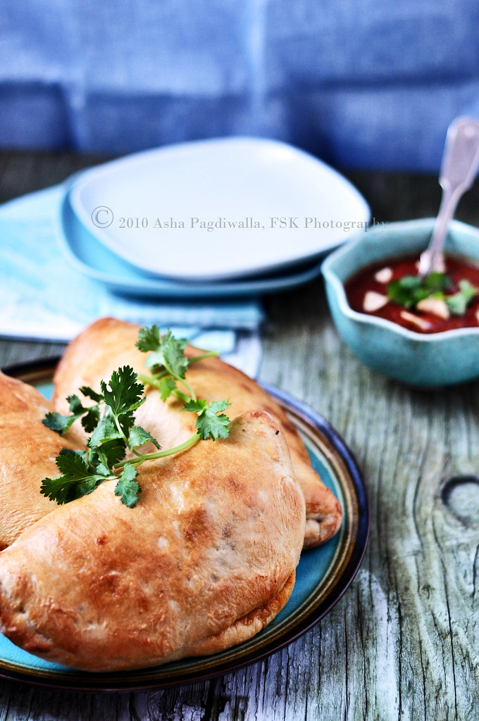 Chicken and Red Bell Hot Pockets - Copy