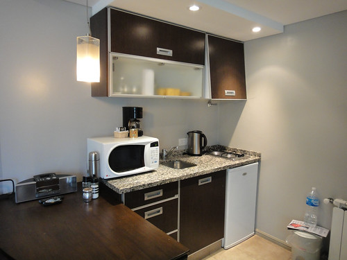 Kitchenette at DOT Suites