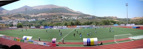 Estadio de fútbol Medina Lauxa de Loja