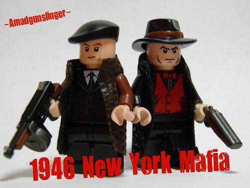 Custom minifig 1946 New York Mafia custom minifigs