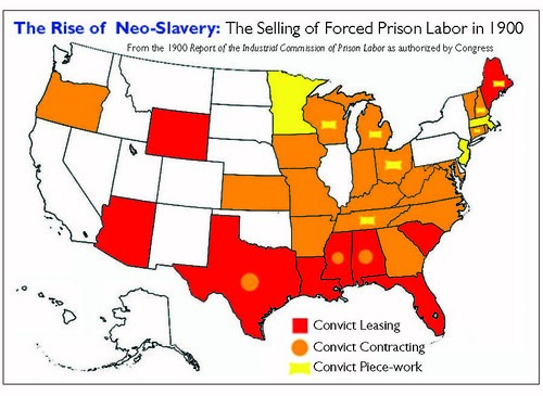 Rise of Neo-Slaver_Selling of Convict Labor in 1900