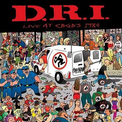 1984 D.R.I. Live @ C.B.G.B.