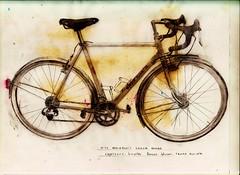 Rando Drawing (guidedbybicycle) Tags: bicycle pencil drawing