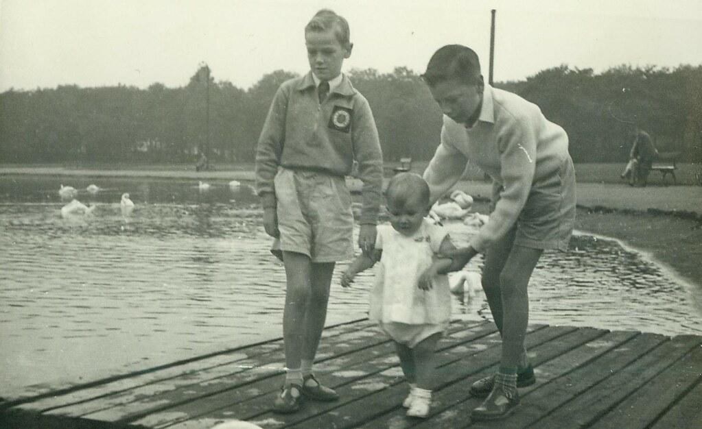 Roderick, Douglas and Glenn McCreath  1958