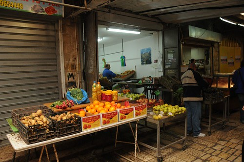 Fruit stand in the Old City Bazaar