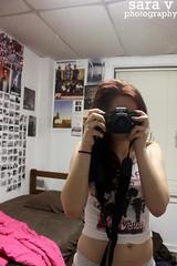 day lxxv- back to school (365daysofsarav) Tags: camera film dorm tshirt messy 365 minalta