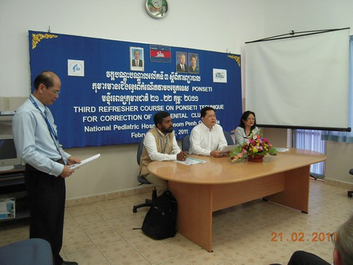 CURE Cambodia Clubfoot Event