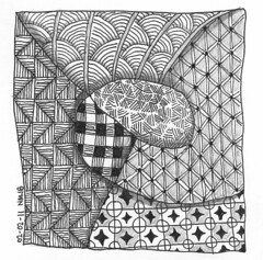 Tangle 004 (perfectly4med) Tags: tangle zentangle