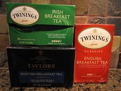 where is the welsh breakfast tea?! (Rakka) Tags: tea twinings taylors englishbreakfasttea breakfasttea irishbreakfasttea scottishbreakfasttea