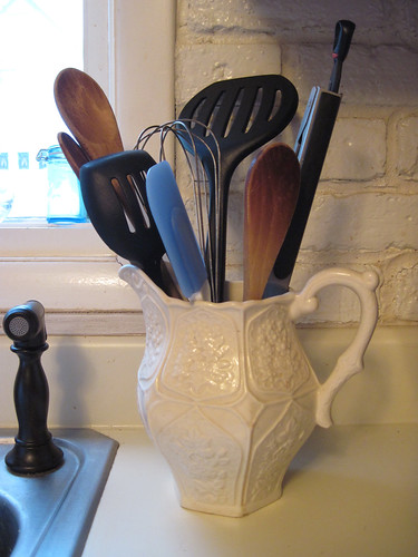 Utensils in Cream Pitcher