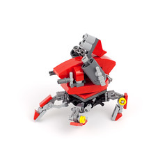 RED Bot v1 (oidan) Tags: red canon robot lego quad chain walker weapon mech launcher multiped 5dmk2