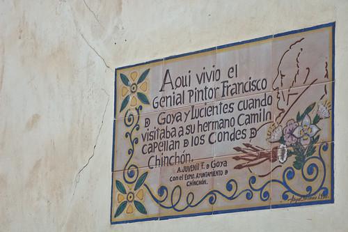 La casa de Goya en Chinchón