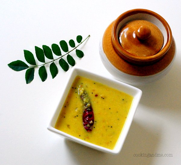 Kerala Parippu Curry Yellow Dal Recipe